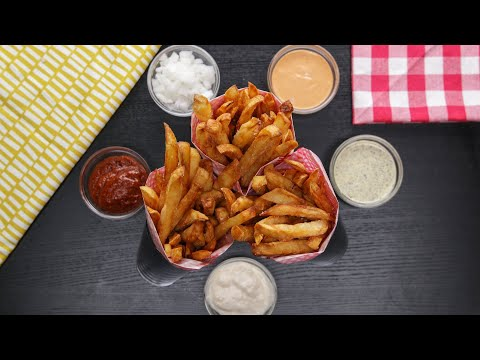 French Fries 3 Ways • Tasty