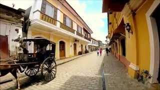 VikingOdkrywca...FILIPINY VLOG #30 .. Miasto Vigan - Perła Stylu Kolonialnego