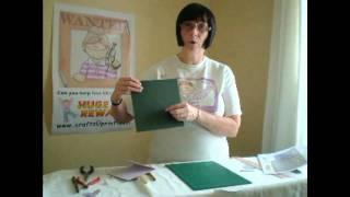 CUP TV Episode 20 - Carol Clarke makes a Cut & Fold Card