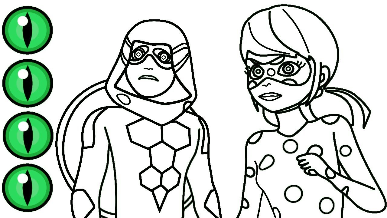 miraculous ladybug coloring that are monster | powell website
