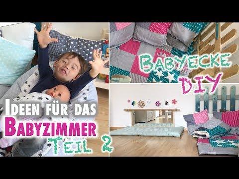 Ideen für das Babyzimmer Teil 2 | DIY Babyecke und Spielmöbel | mamiblock