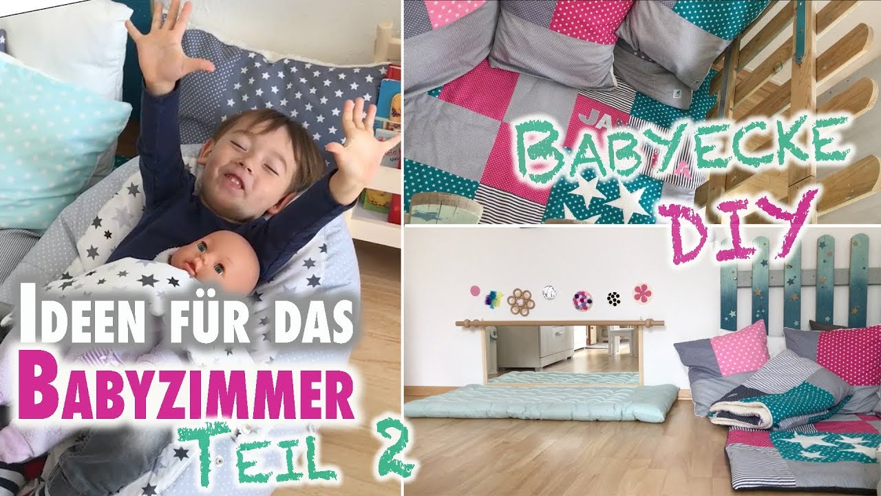 ideen f r das babyzimmer teil 2 diy babyecke und spielm bel mamiblock youtube. Black Bedroom Furniture Sets. Home Design Ideas