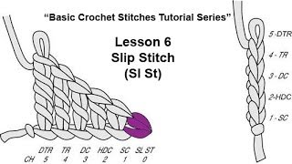 "Learn How To Crochet~Lesson 6 of 6 of My ""Basic Crochet Stitches Tutorial Series"""