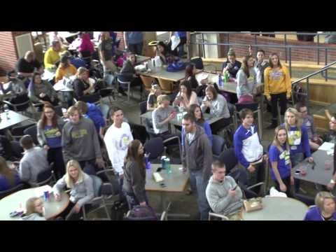 SDState Choir Flash Mob at SDSU Student Union