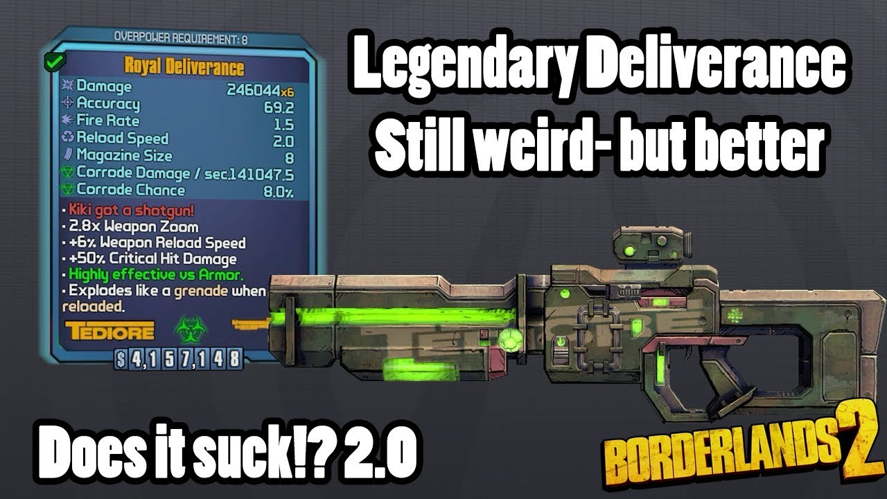 Borderlands 2: Hyperion Development Shotgun- Does it suck?!