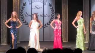 Miss American Samoa 2012 Lisa Opie in Evening Gown Preliminary at Miss United States 2012