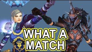 OP RET VS OP UNHOLY DK epic battle - Savix Vs Sandman Legion wow pvp