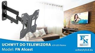 "ALCEST Obrotowy uchwyt TV - do telewizora, monitora LCD, LED 23"" - 42"""