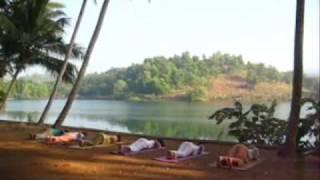 Yoga in India - Sivananda Ashram  by Wari Om
