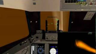 Space Shuttle Mission Simulator Re-entry