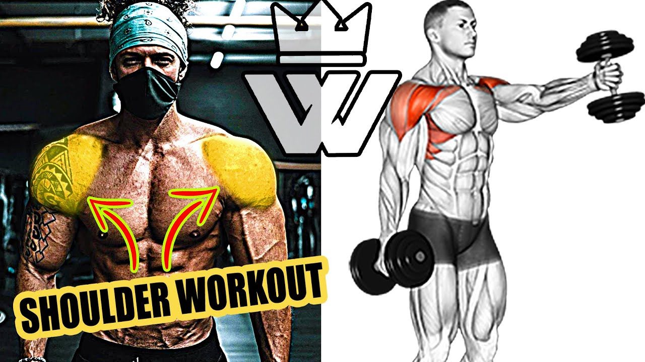 Super Effective SHOULDER WORKOUT 17 Exercises