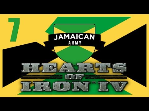 Hearts of Iron IV - Modern Day Jamaica #7