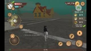 Игра dog sim прохождение по онлайн🐕🐕🐶