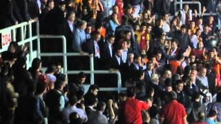 Galatasaray-Fenerbahçe Kadın Basket Finali / Fenerbahçe yöneticilerine tepkiler