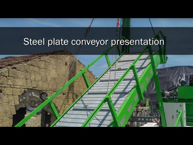 Steel plate conveyor presentation