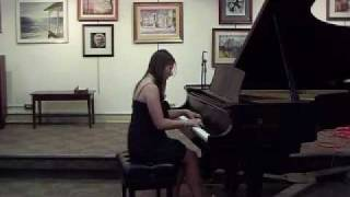 Jacqueline C. ~ Student of Ralph Iossa Plays Yiruma Live
