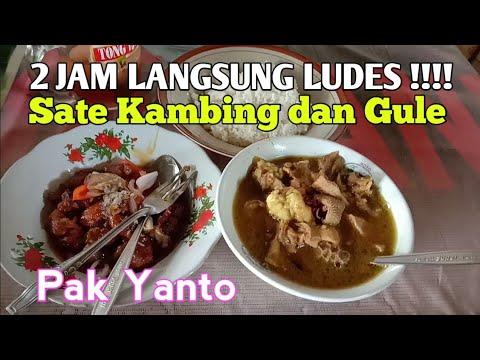 2-jam-langsung-ludes-!!!-wisata-kuliner-khas-kudus,-sate-kambing-dan-gule-pak-yanto