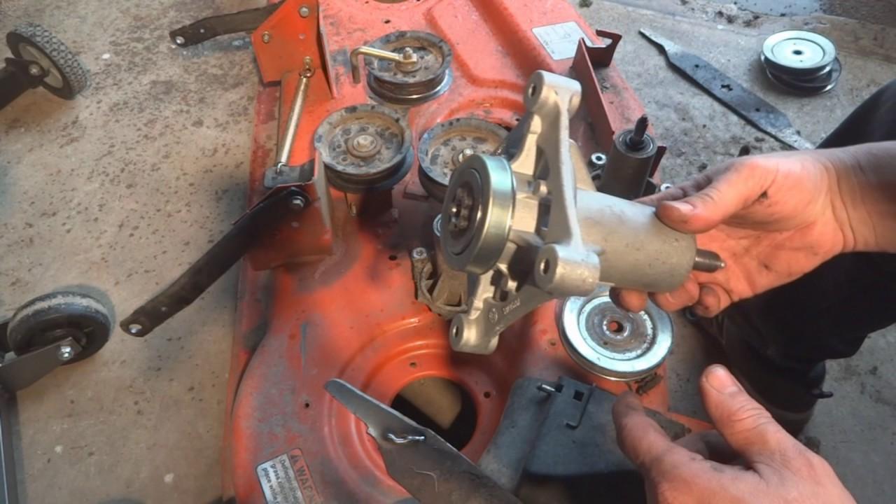 Husqvarna Mower Deck Mandrel replacement