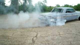 61 Chevy Impala Burnout