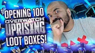 COOL KID OPENS 100 UPRISING LOOTBOXES