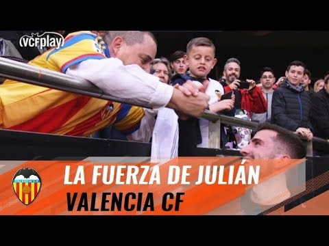 HIS LOVE FOR VCF GIVE HIM STRENGTH IN THE FIGHT AGAINST ALS | VALENCIA CF