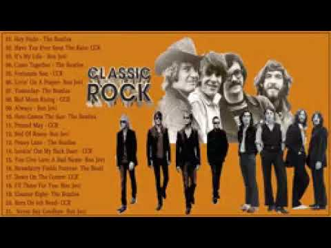 The Beatles, Bon Jovi, Creedence Clearwater Revival - Greatest Hits Best Classic Rock Of All Time