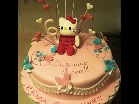 Hello Kitty торт