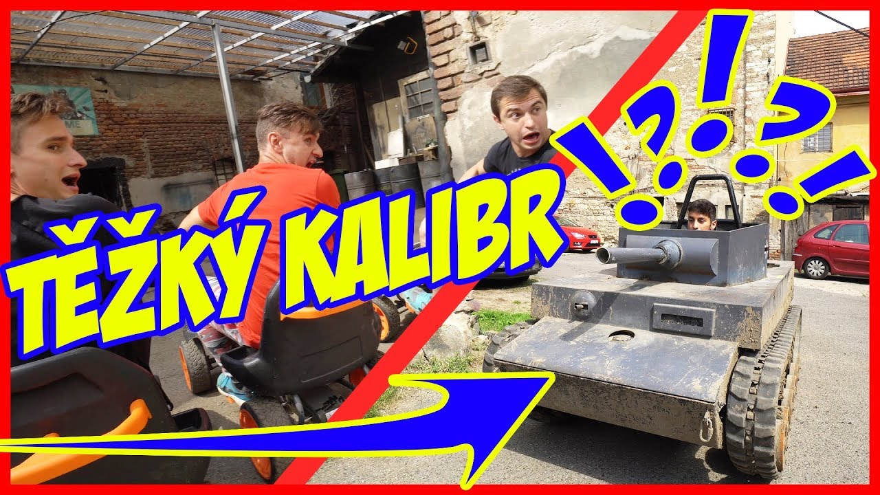 Nerf Parkour #2   Battle - Bogdan, Tary vs. Šinty, Hanzi