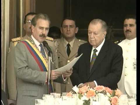 Visita de Estado del Presidente Pastrana a Caracas -21 de noviembre de 1998-