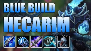 BLUE BUILD HECARIM TOP - League of Legends