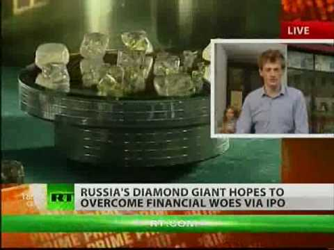Russias state diamond monopoly - Alrosa - is going public