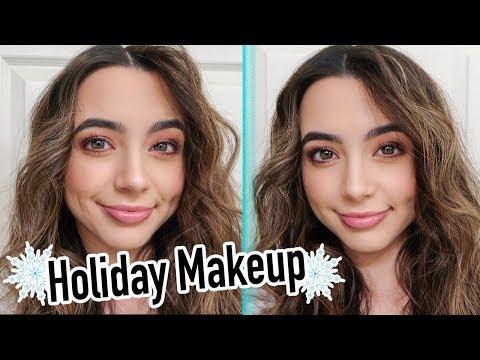 Holiday Makeup Look - Veronica Merrell - Merrell Twins