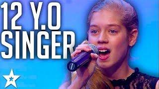 12 Y.O Swing Singer AMAZES Crowd on SA's Got Talent 2017
