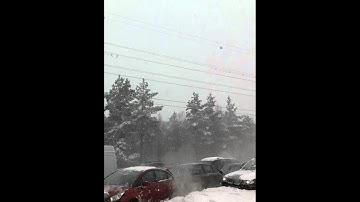 Lahti-Helsinki Highway crash 12.00 03.02.2012