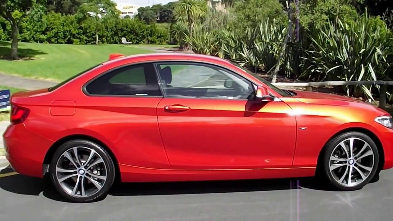 2016 bmw 220i coupe sport line youtube. Black Bedroom Furniture Sets. Home Design Ideas