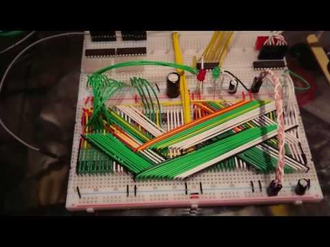 64k Memory Module - Plum Breadboard Computer