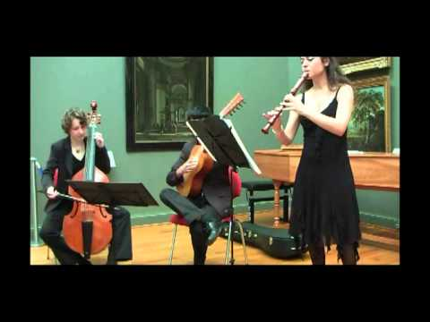 Bach - Sonata for flute and cembalo BWV 1033