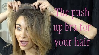 full volumized hair in seconds lauren ashtyn collection how to tutorial in slow motion