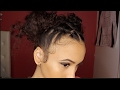 Rubber-band buns for every type of hair | Detri