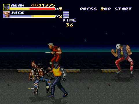 Streets of Rage Remake v5.1 - SOR3 Adam's story extended_Colossus Adam + Bad Ending