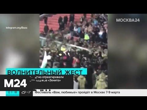 """Фанаты """"Ахмата"""" бурно отреагировали на оголенных болельщиков """"Зенита"""" - Москва 24"""