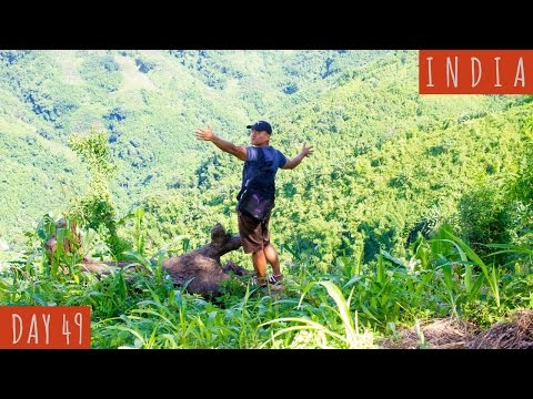 Ancient Bamboo Home Design in Mizoram Village | DAY 49