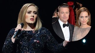Adele Dedicates Entire NYC Show To Brangelina Breakup