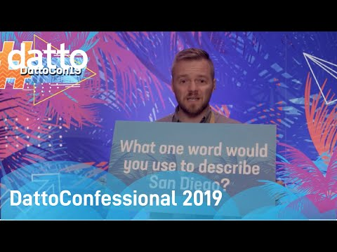 DattoConfessional 2019