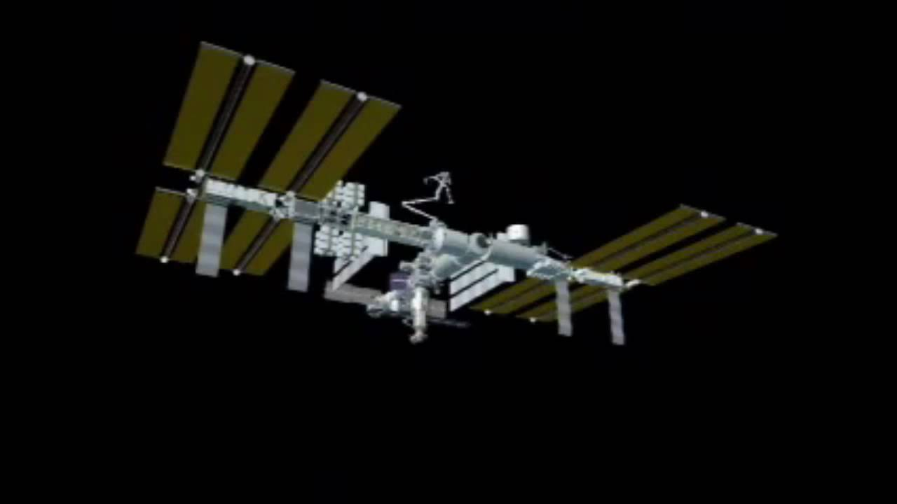 International Space Station Assembly Sequence - YouTube
