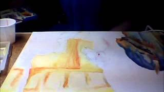 Carousel horse painting gift