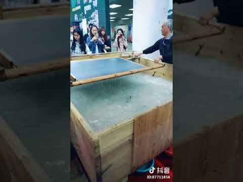 Hand - made paper making in ancient China