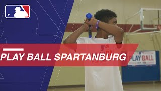 Spartanburg, SC holds Play Ball event