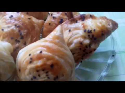 Узбекский слаёный самса,очень вкусно и быстро рецепт. Qat qat somsalar, oson oddiy retsept bilan!
