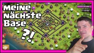 [Clash of Clans ] DEUTSCH || meine neue Base?!